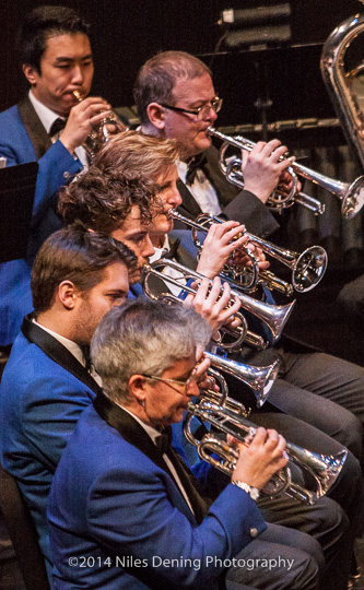 Solo cornet section - Hannaford Festival of Brass - Metropolitan Silver Band - a brass band in the British tradition